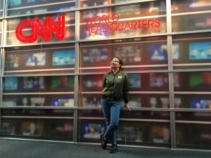 В штаб-квартире CNN, Атланта, штат Джорджия.