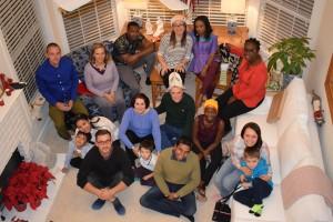 Участники программы Хамфри 2016-17, мужчина в ак-калпаке - координатор программы в Аризонском университете д-р Билл Силкок.