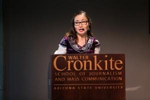 Школа журналистики и массовых коммуникаций имени Уолтера Кронкайта университета штата Аризона.