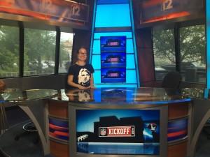 Ознакомительный тур на телеканал Channel-12, Финикс, штат Аризона.