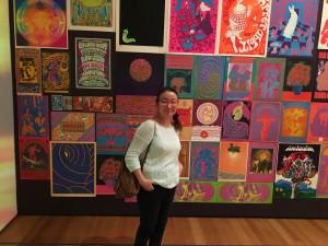 В Музее современного искусства, Нью-Йорк.